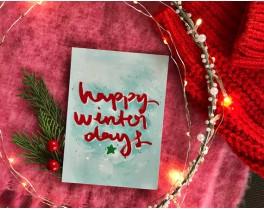 Happy Winter Days-Mavi