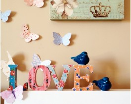 Dekoratif Kelimeler - LOVE