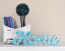 Dekoratif Kelimeler - Home