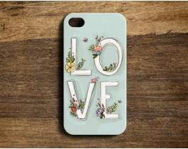 Love / Mint - Telefon Kılfı