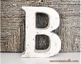 Dekoratif Harfler-B