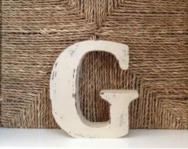 Dekoratif Harfler-G