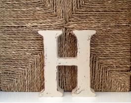 Dekoratif Harfler-H
