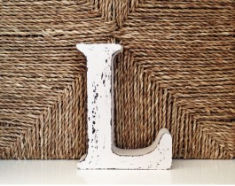 Dekoratif Harfler-L