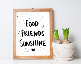 Food-Friends-Sunshine