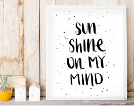Sunshine On My Mind