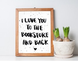 I Love You To Bookstore And Back