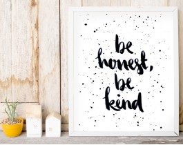 Be Honest-Be Kind