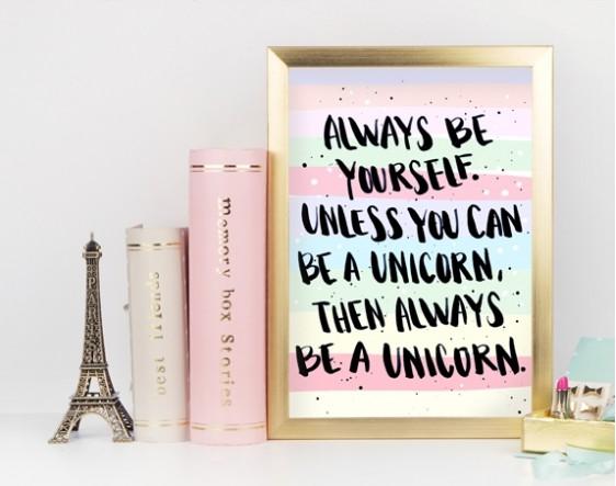 Always Be Yourself - Renkli
