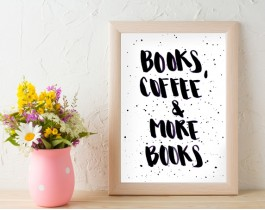 Books, Coffee & More Books