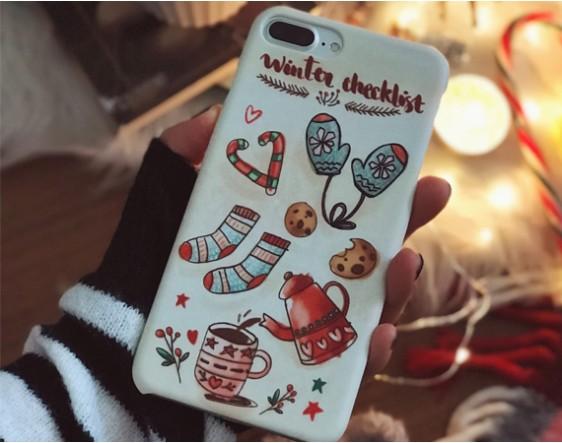 Winter Checklist- Telefon Kılfı